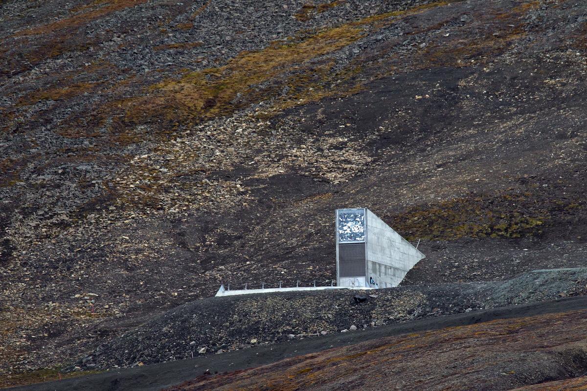 secret places norway Svalbard Global Seed Vault