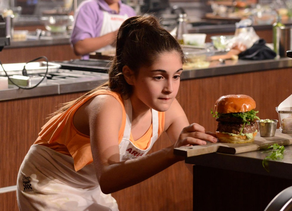 Ariana and the Burger