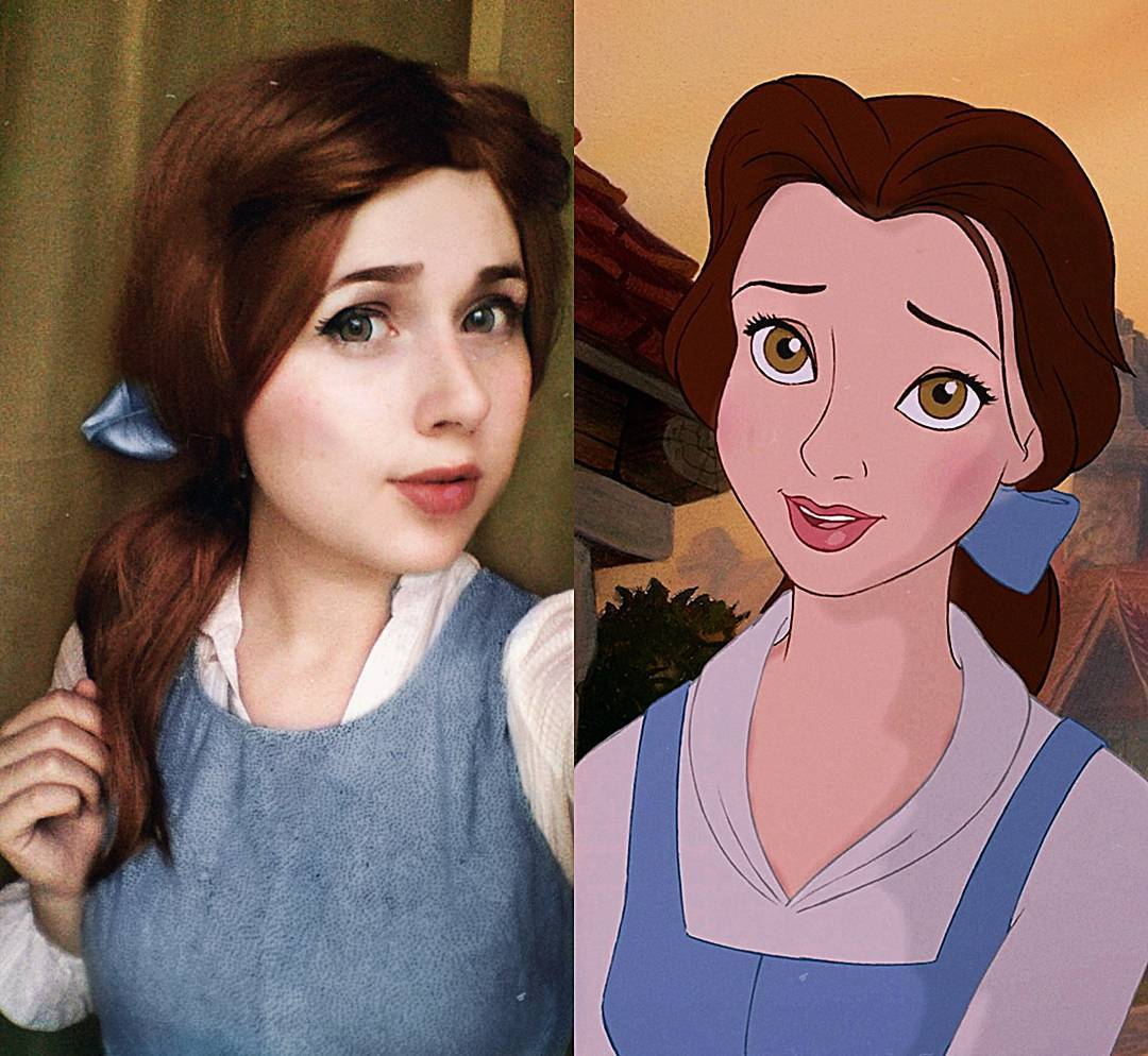 jules as belle beauty and the beast