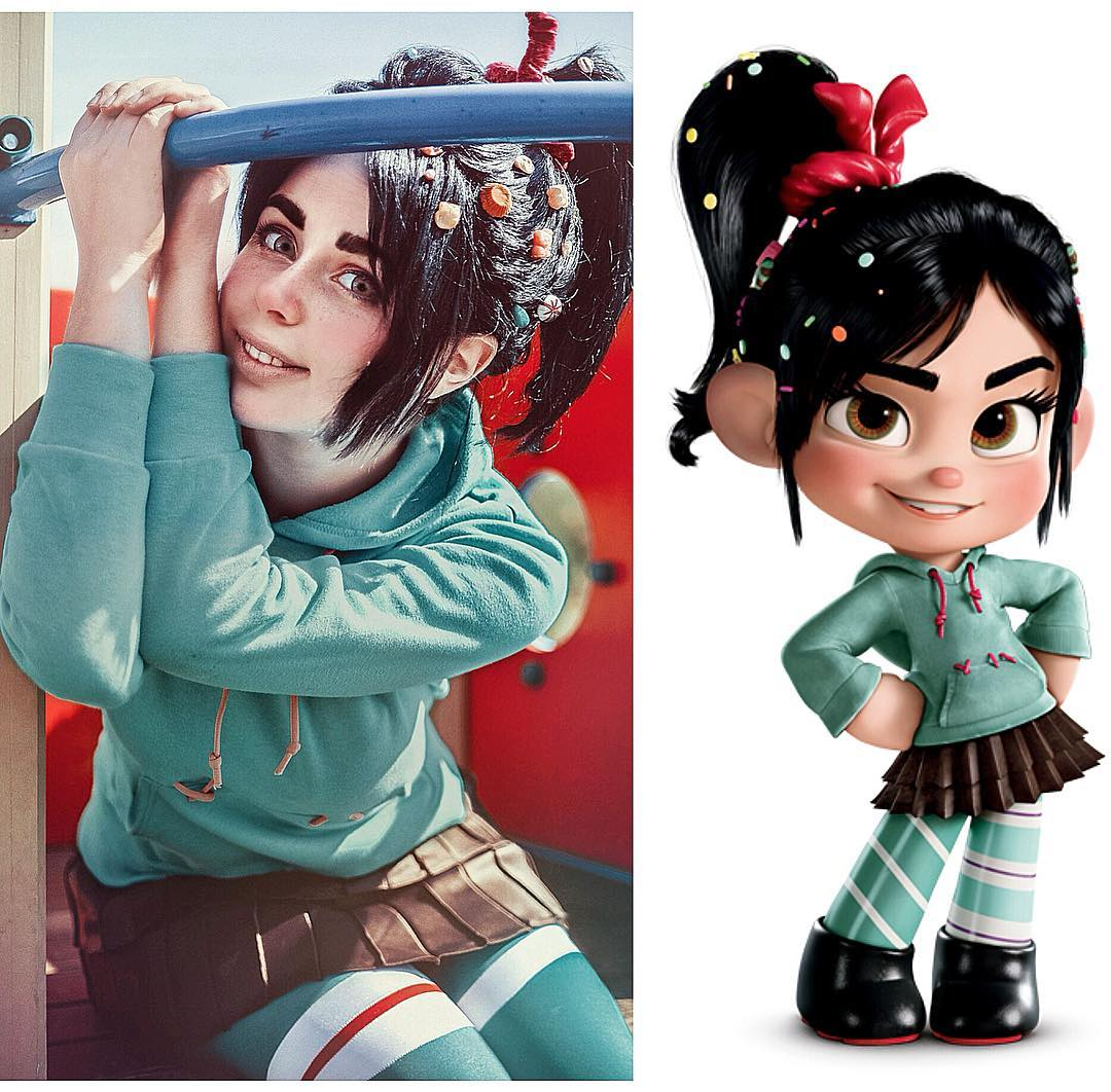 jules as vanellope
