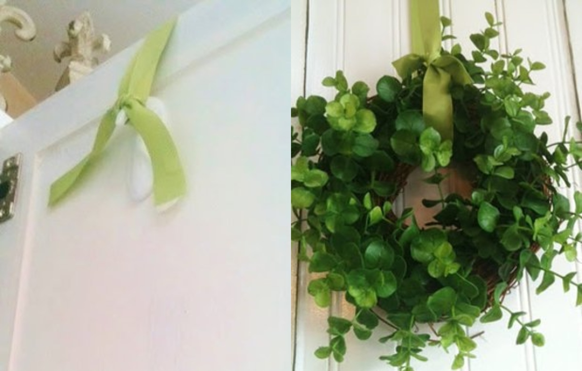 use a command hook to hang a wreath hack