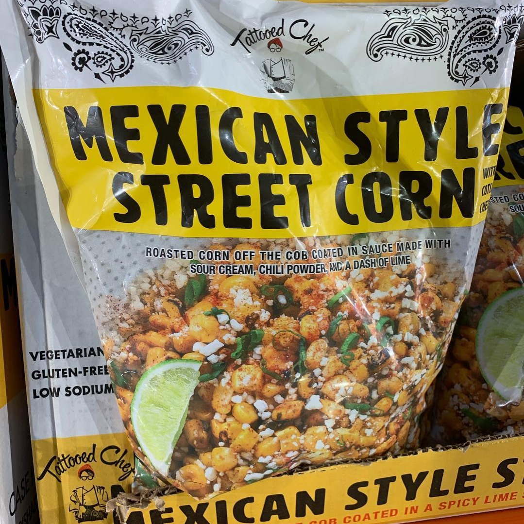 mexican street corn in a bag