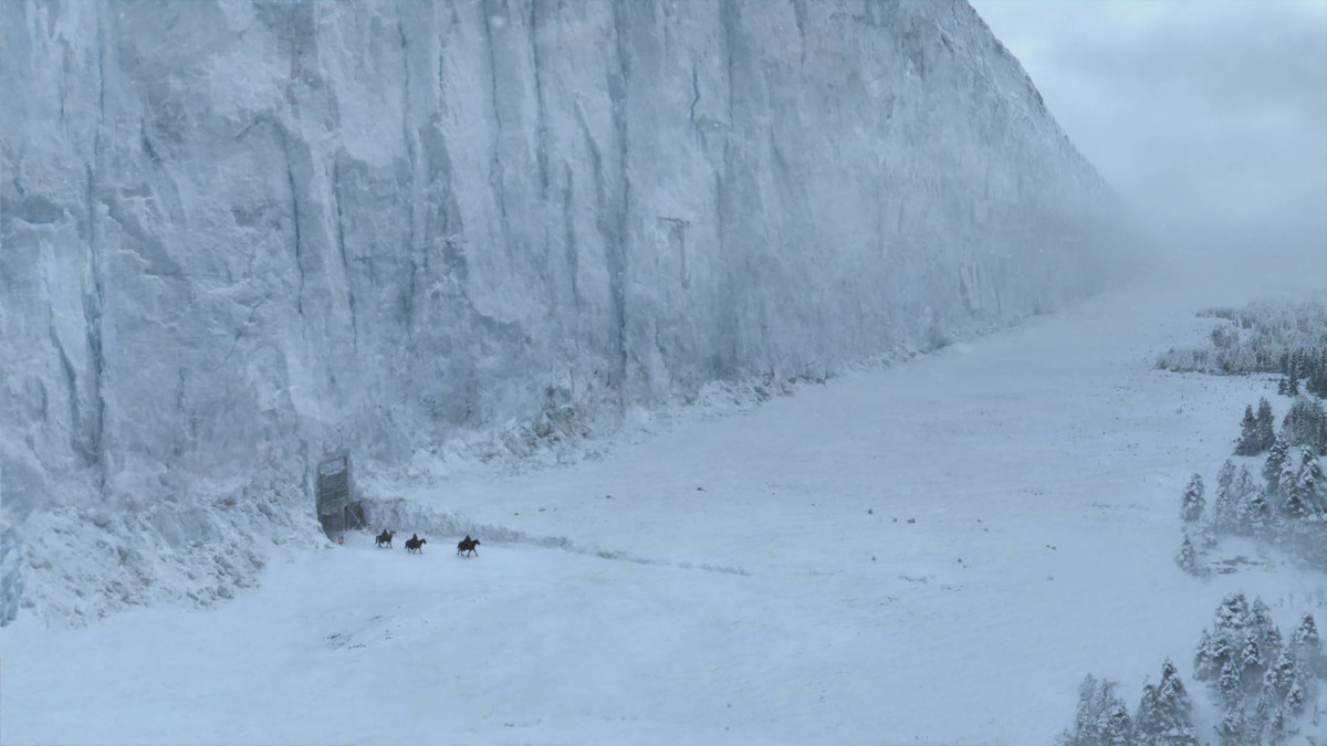 the wall game of thrones series finale
