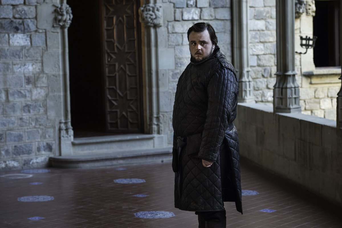 samwell tarley game of thrones finale