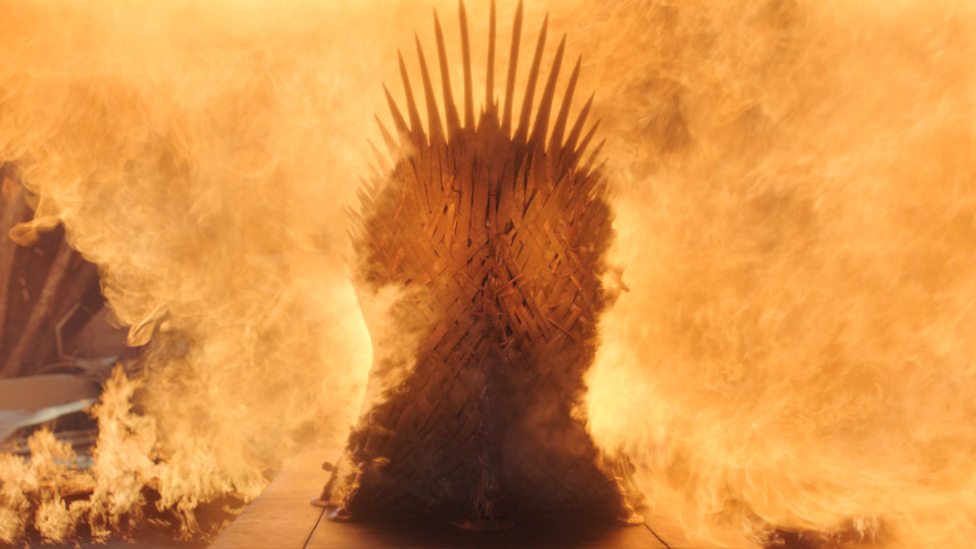iron throne game of thrones finale