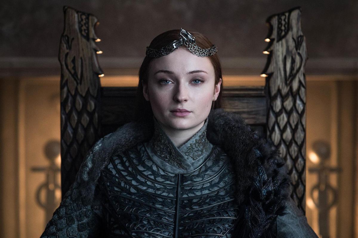 sansa stark queen game of thrones series finale