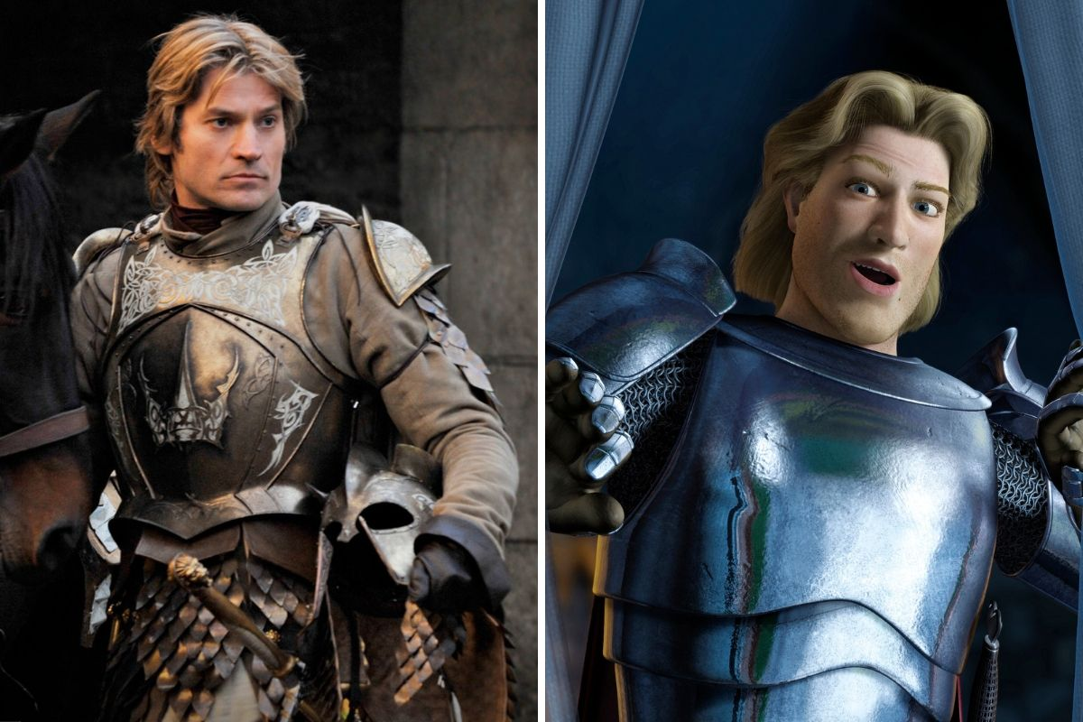 jaime lannister looks just like prince charming