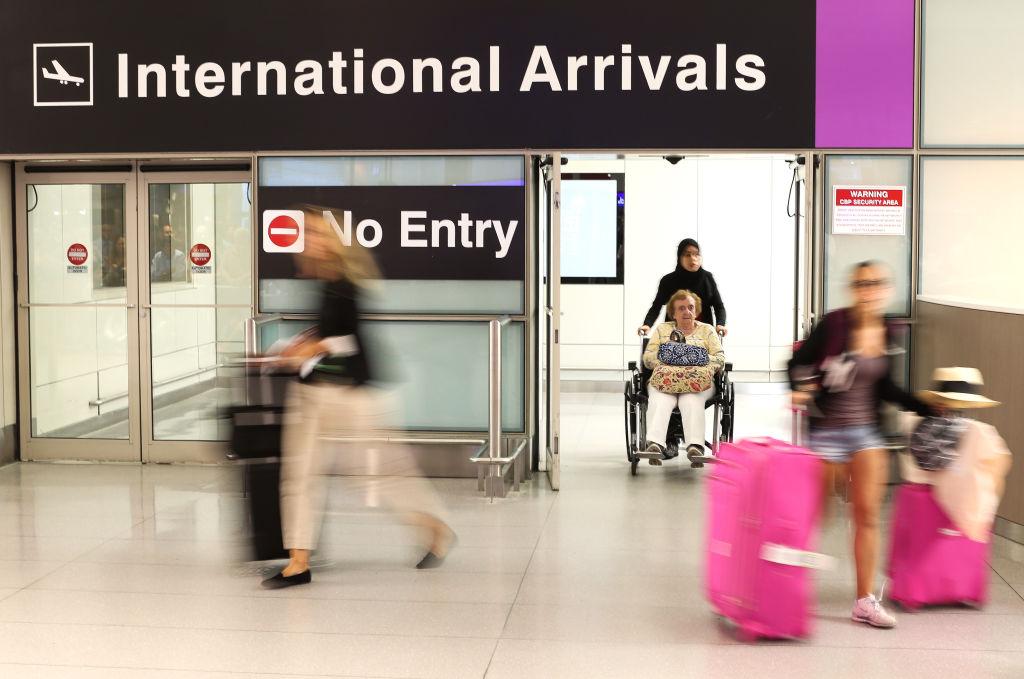 logan airport arrival gate