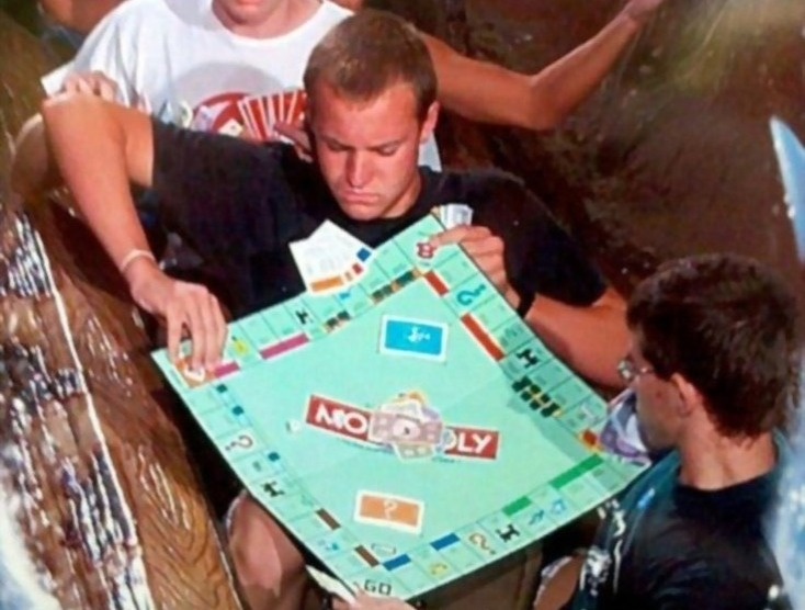 monopoly at disneyland