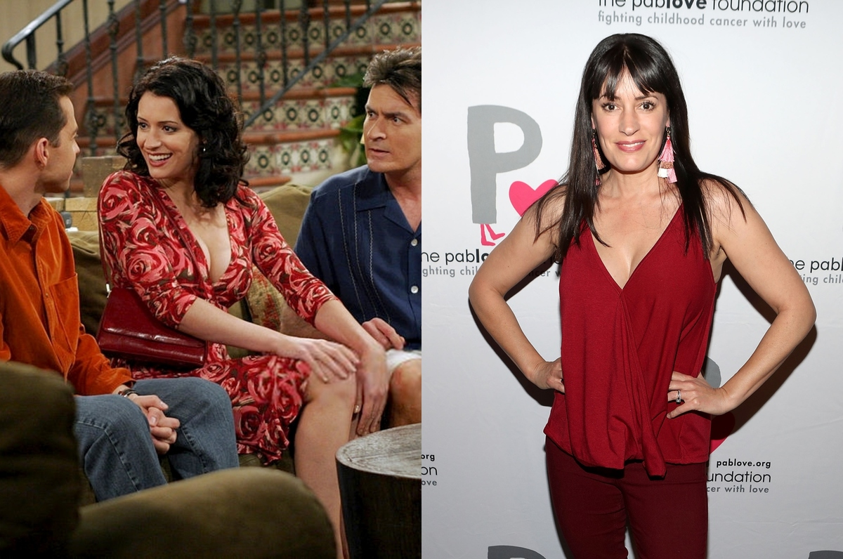 paget brewster on two and a half men