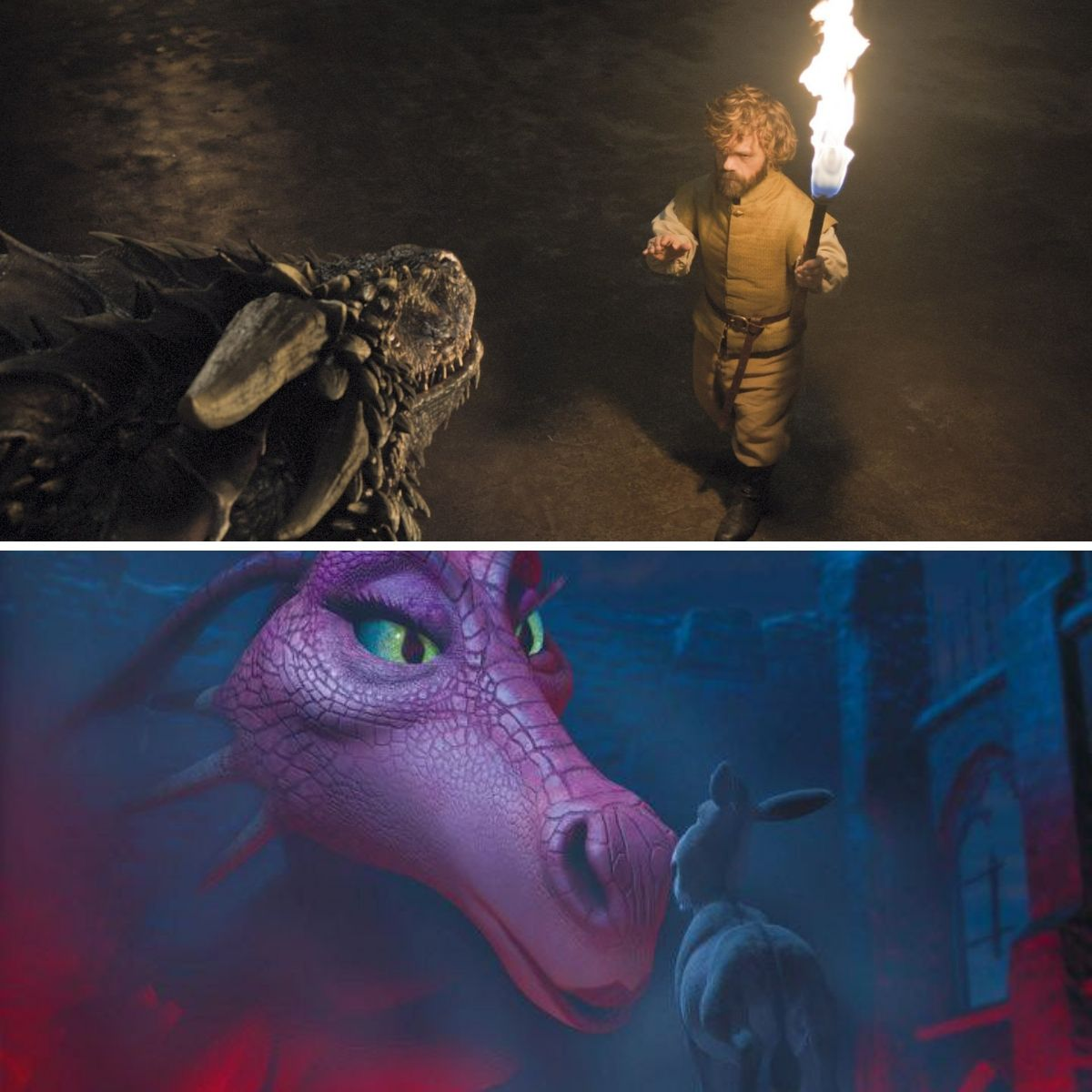 tyrion is like donkey and the dragon