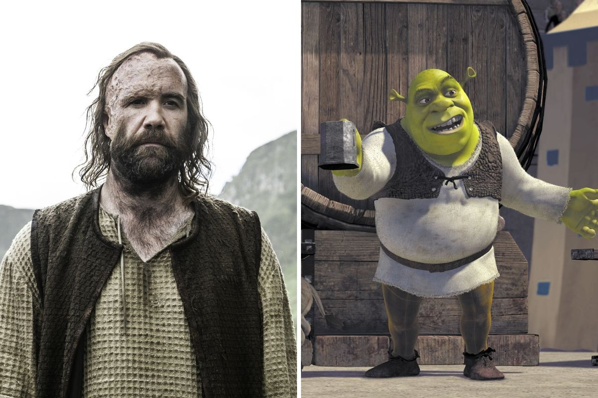 who wore it better the hound of shrek