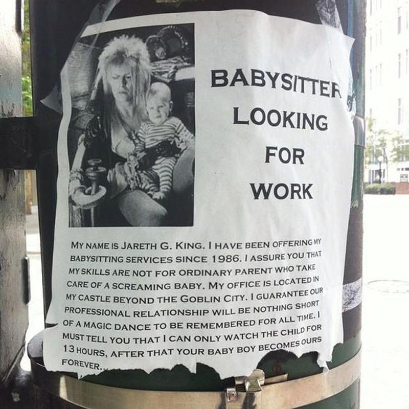 babysitter looking for service