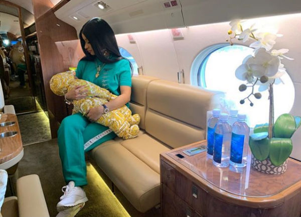 Cardi and Baby