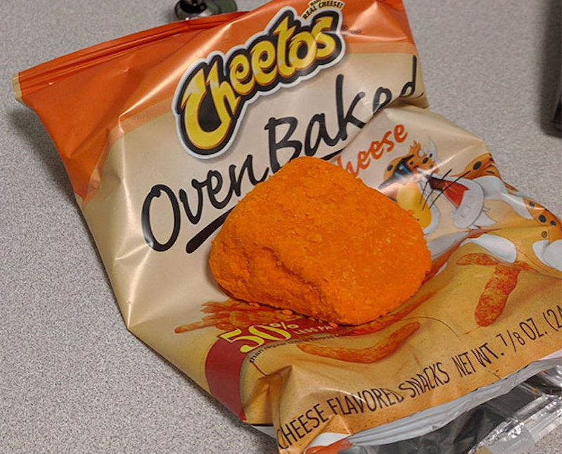 Cheeto Dust Food Fail