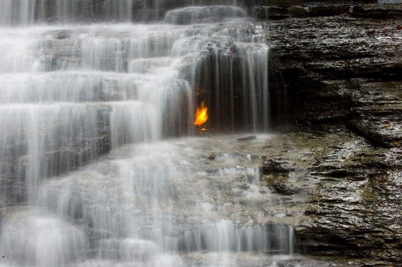 Eternal Flames Falls in New York