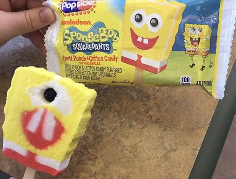 Spongebob Popsicle Food Fail