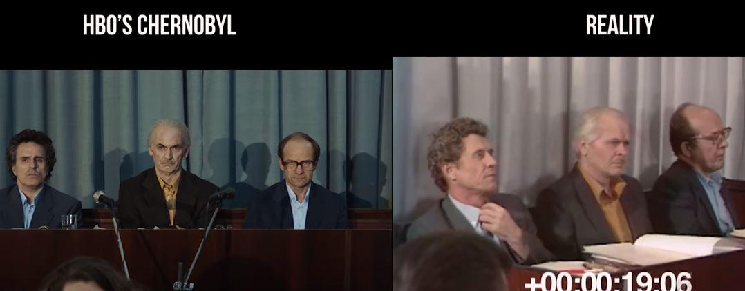 chernobyl politicians tv vs reality