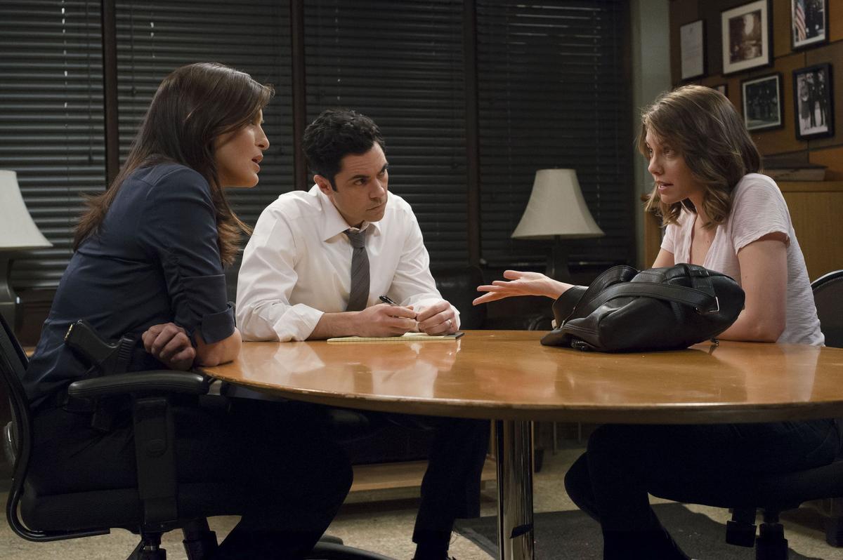 mariska hargitay in season 14 of law & order: svu