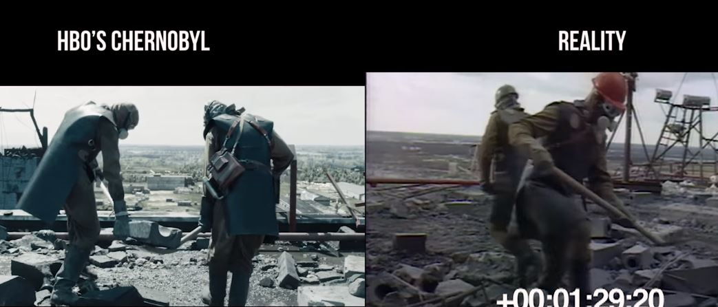 more chaotic chernobyl tv series vs reality