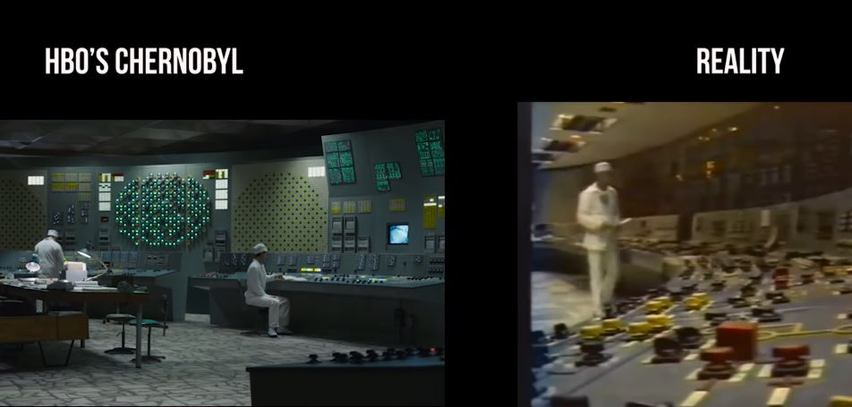 reactor room chernobyl tv show vs reality