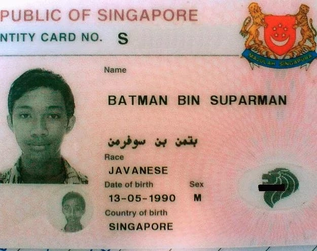 someone whose real name is batman
