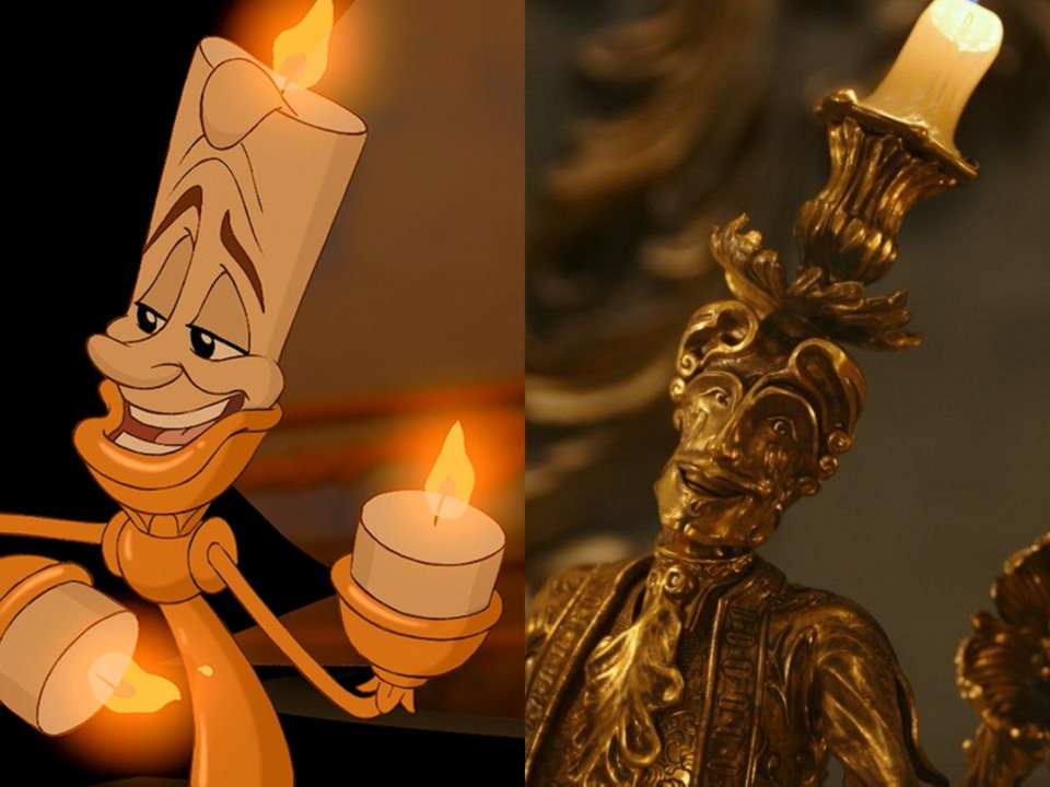 Ewan McGregor As Lumière In Beauty And The Beast