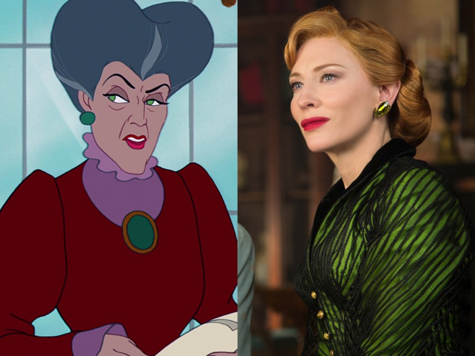 Cate Blanchet evil stepmother  in cinderella