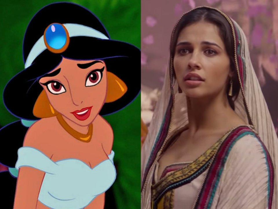 naomi scott as jasmine in live action aladdin