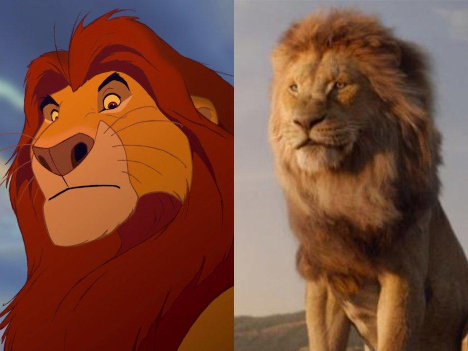 James earl jones mufassa live action lion king