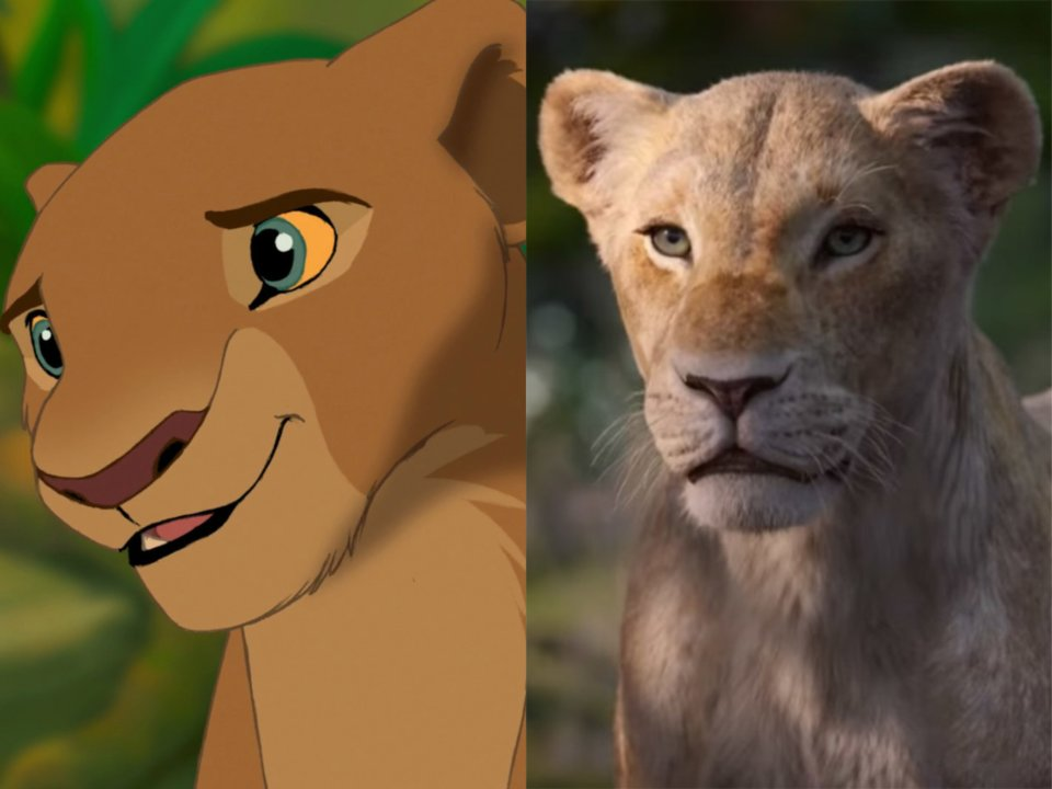 beyonce nala in the lion king