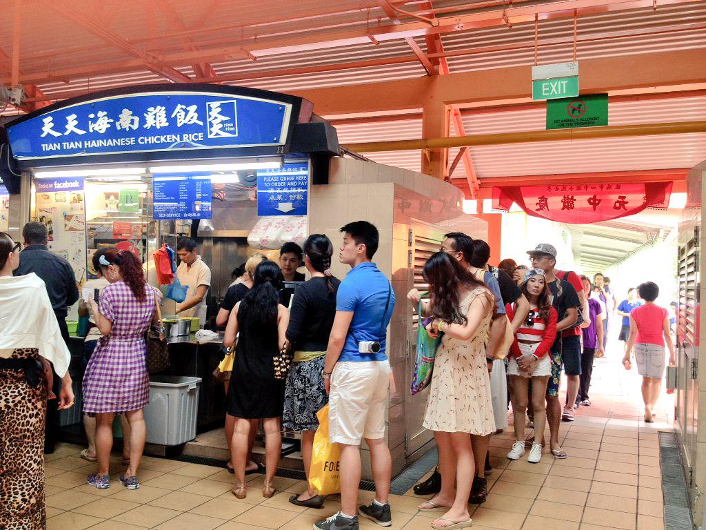 long lines in singapore