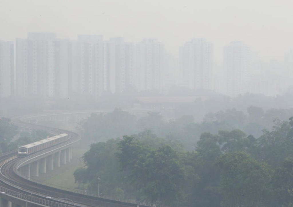 the severe haze in singapore