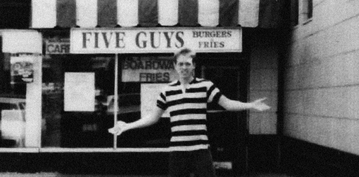 The first Five Guys location