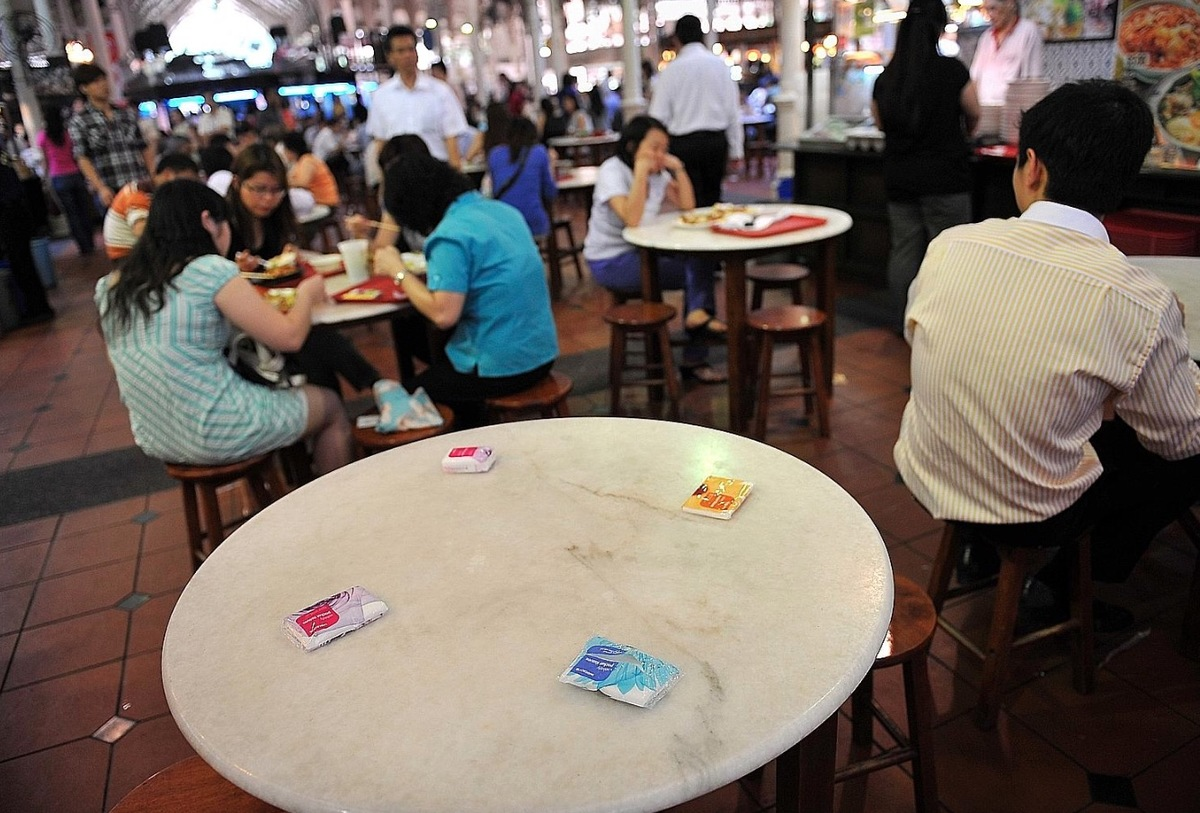 how to reserve a table in singapore