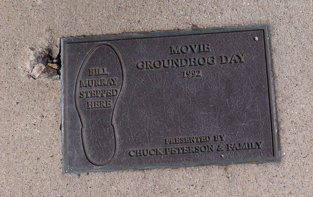 Plaque for bill murray