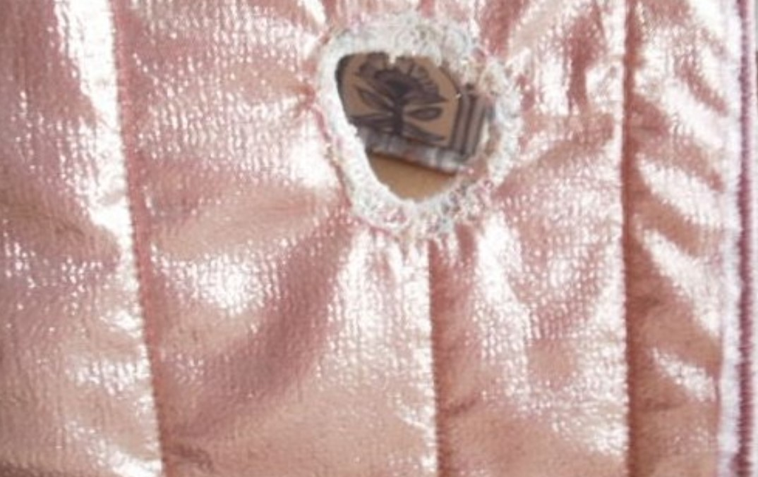 hole in the lining