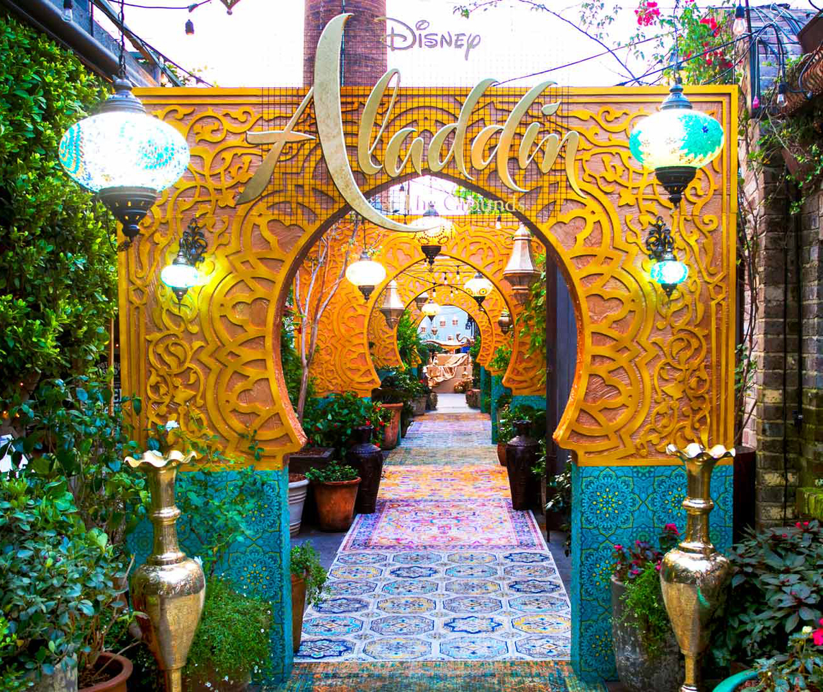 The Grounds Aladdin restaurant in Sydney, Australia