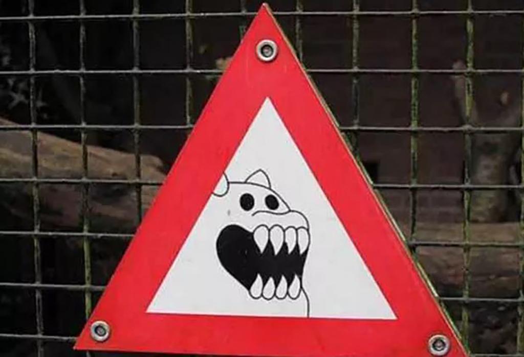 Strange sign