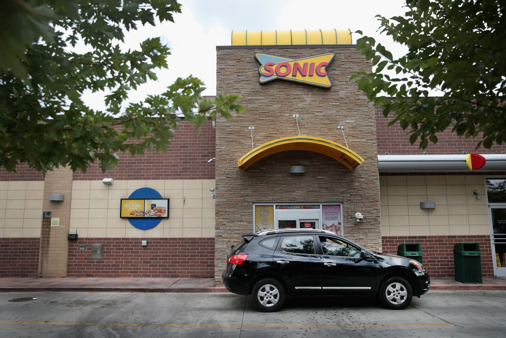 outside of sonic