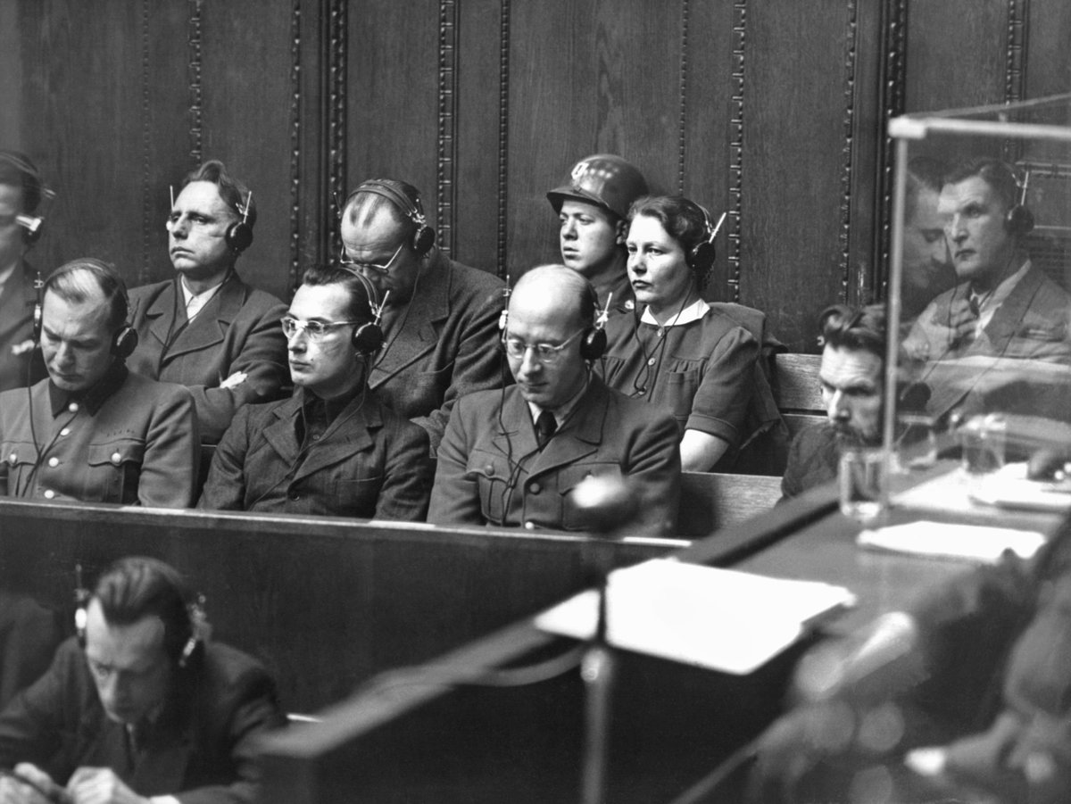 GettyImages-1060974392The trial against 23 Nazi doctors and scientists in 1946