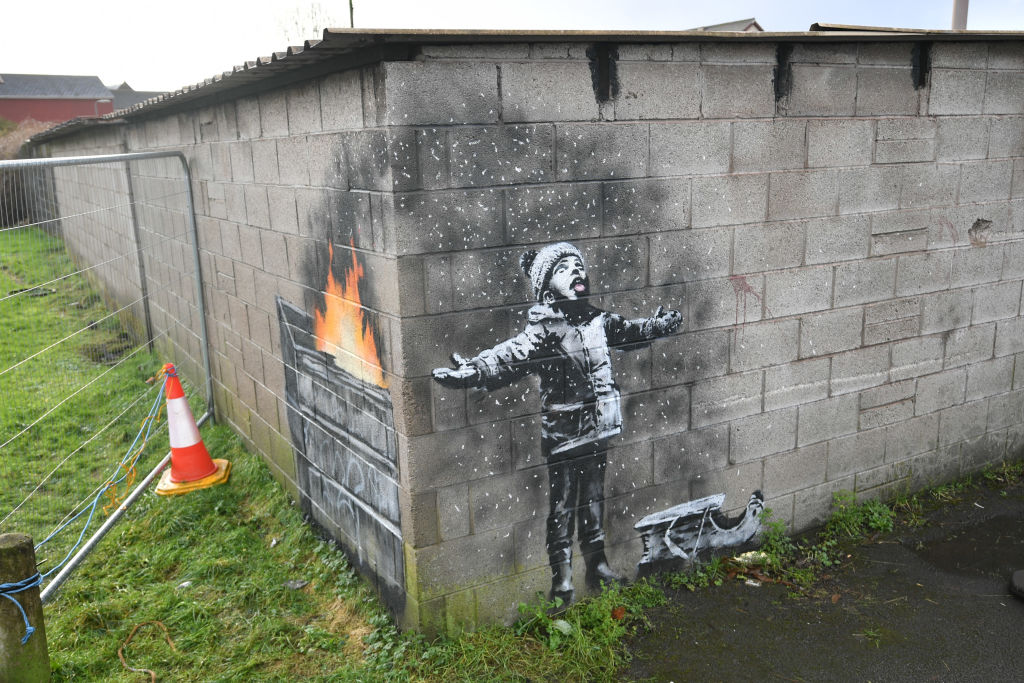 world famous banksy