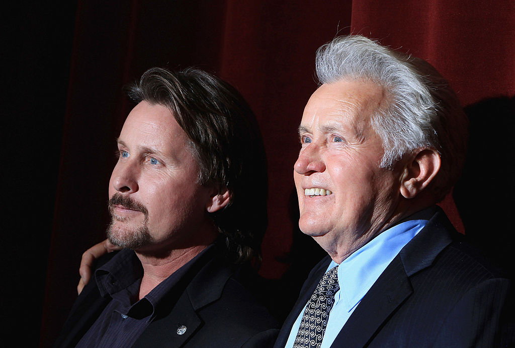 emilio estevez has played his fathers son