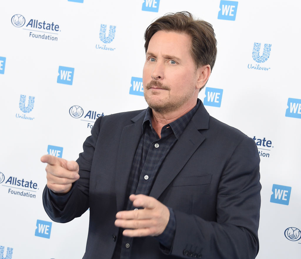 Emilio Estevez arrives at WE Day California