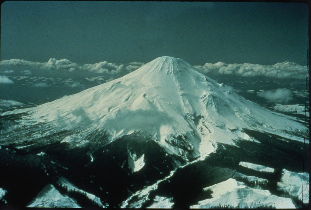 Image of the volcano