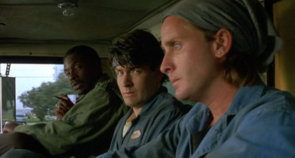emilio estevez directed men at work as his second film
