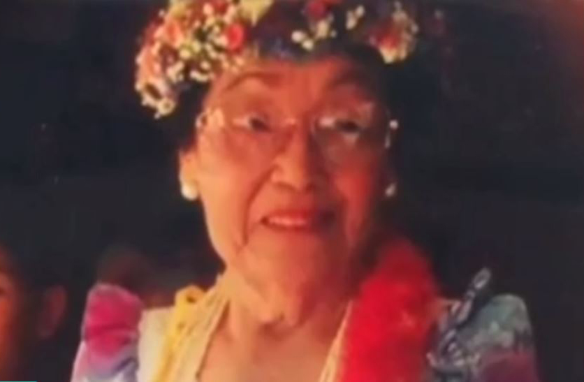 Faded photo of Shannon Hiramoto's great-grandmother, Florence Kamei