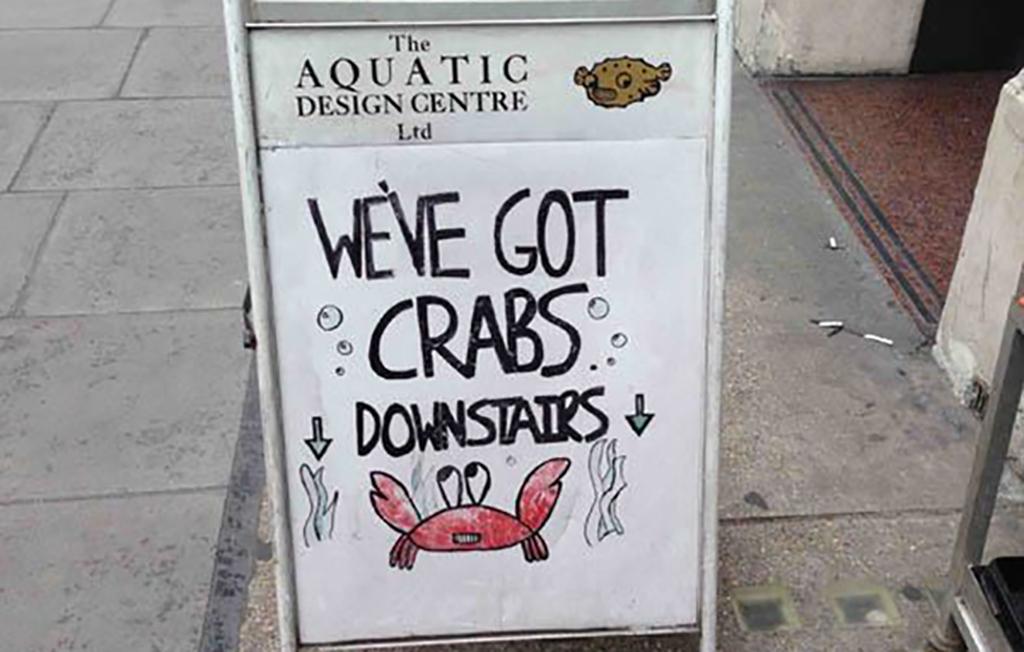 Crabs sign