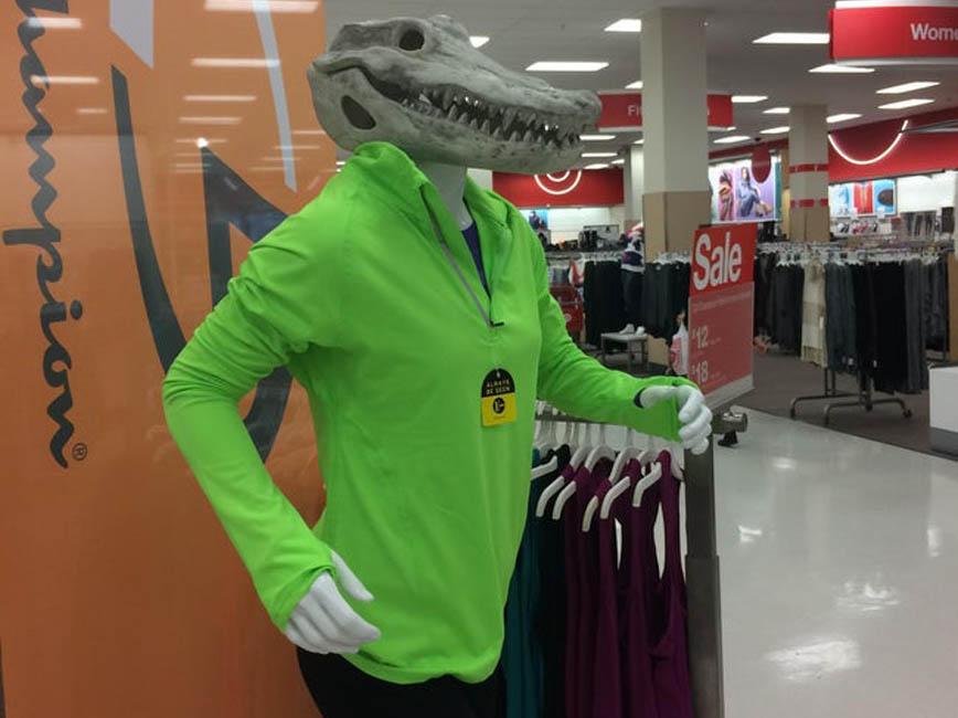 running croc at target