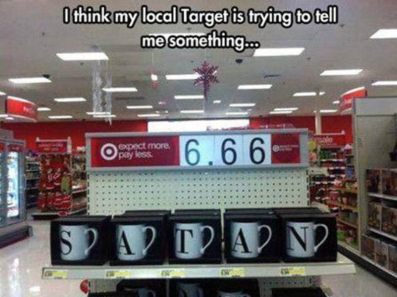 creepy target
